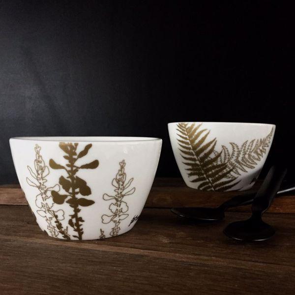 Billede af Porcelænsskåle, Sæt m. 2 stk. by Brorson
