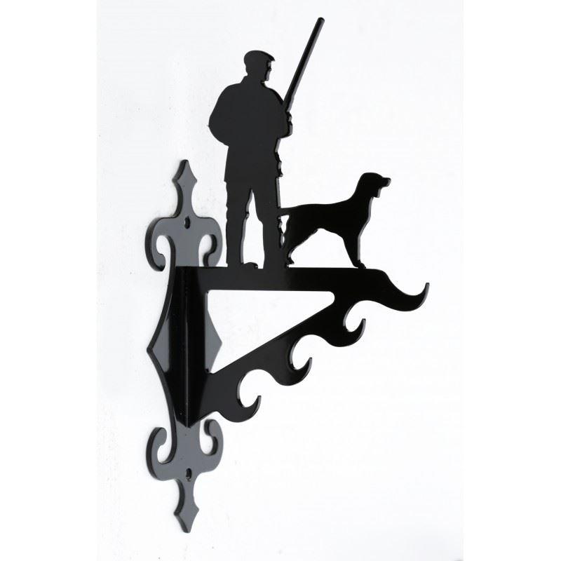 Jæger med hund