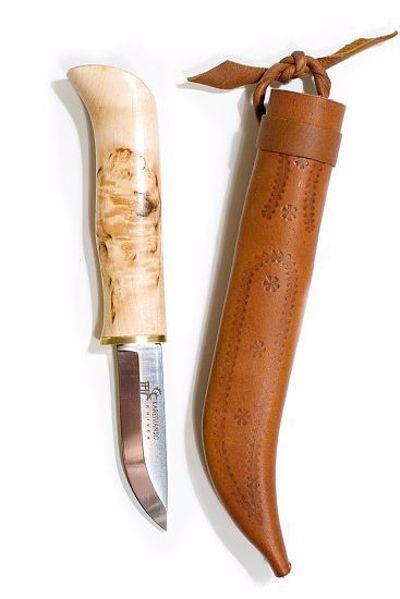 Billede af HAREN jagtkniv i birketræ
