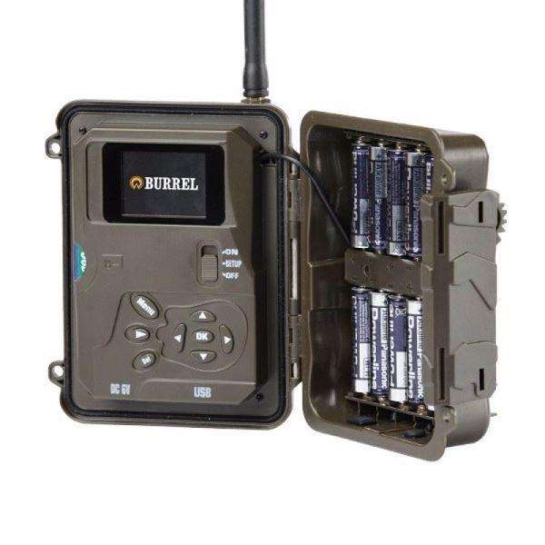 Billede af Opsætning af dit vildtkamera til MMS eller E-mail inkl. batterier og sd-kort