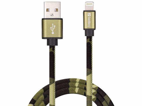 Billede af Sandberg opladerkabel - Camouflage - Micro USB