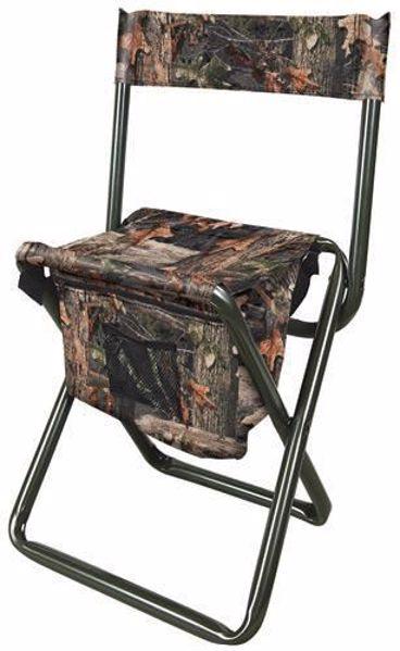 Billede af Jagtstol, klapstol med ryglæn og taske, camo