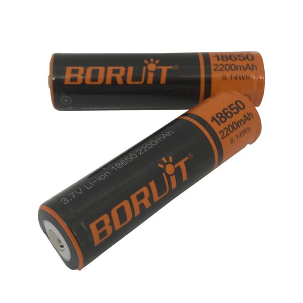 Billede af Genopladelige 18650-batterier