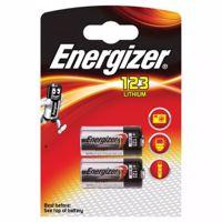 Billede af Energizer Lithium  CR123 Batterier (2 Stk. Pakning)