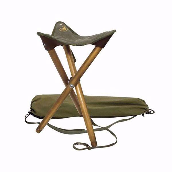 Billede af Klassisk Jagtstol, 3-benet