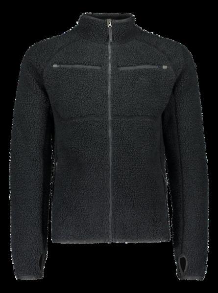 Billede af Alaska Teddy fleece jakke mørkegrå