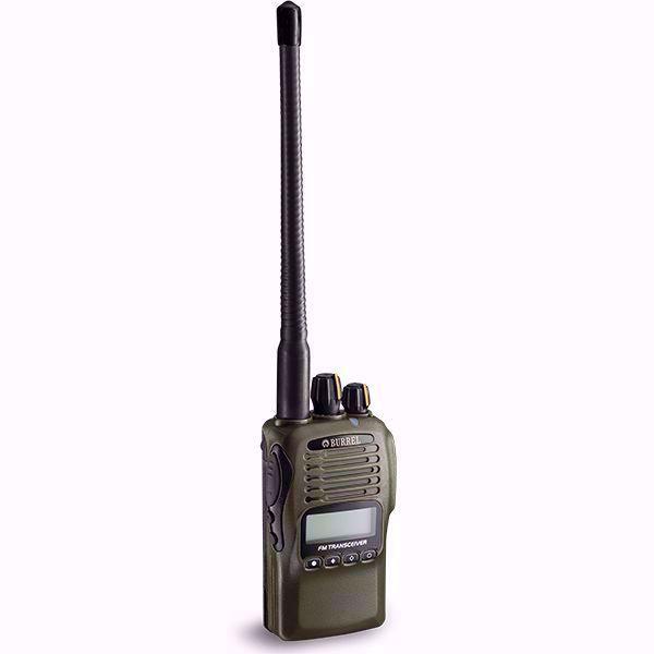 Billede af Burrel Pro 155mhz VHF -jagtradio inkl. skovantenne og headset