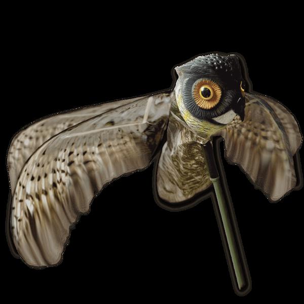 Billede af Krage ugle med bevægelige  vinger