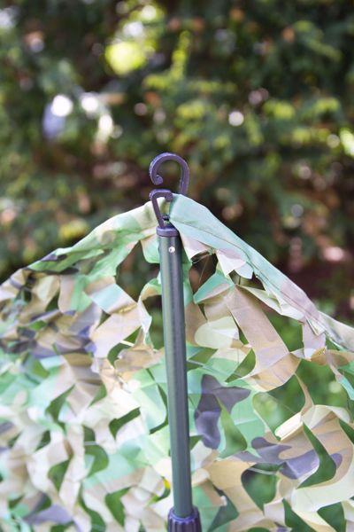 Billede af Justerbar camouflage stang - effektiv holder til camouflagenet